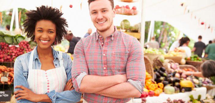 Twickenham Farmers Market in Living In Magazines