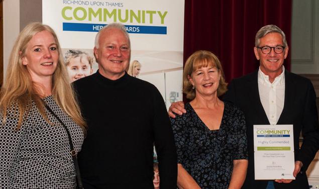 Kew Fete wins Community Award in Living In Richmond, Kew& East Twickenham magazine