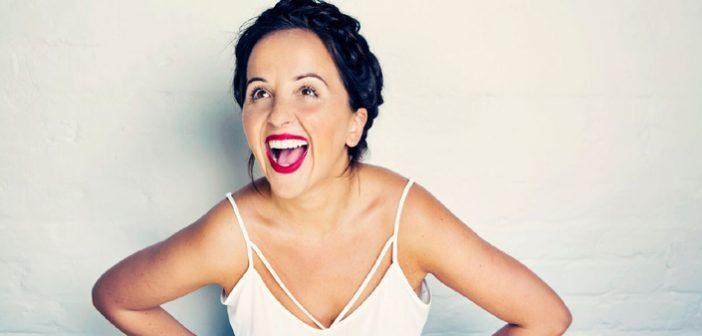 Luisa Omielan at Big Funny Fest in Living In Richmond, Kew & East Twickenham